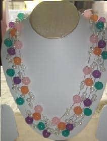 Designer beads necklace
