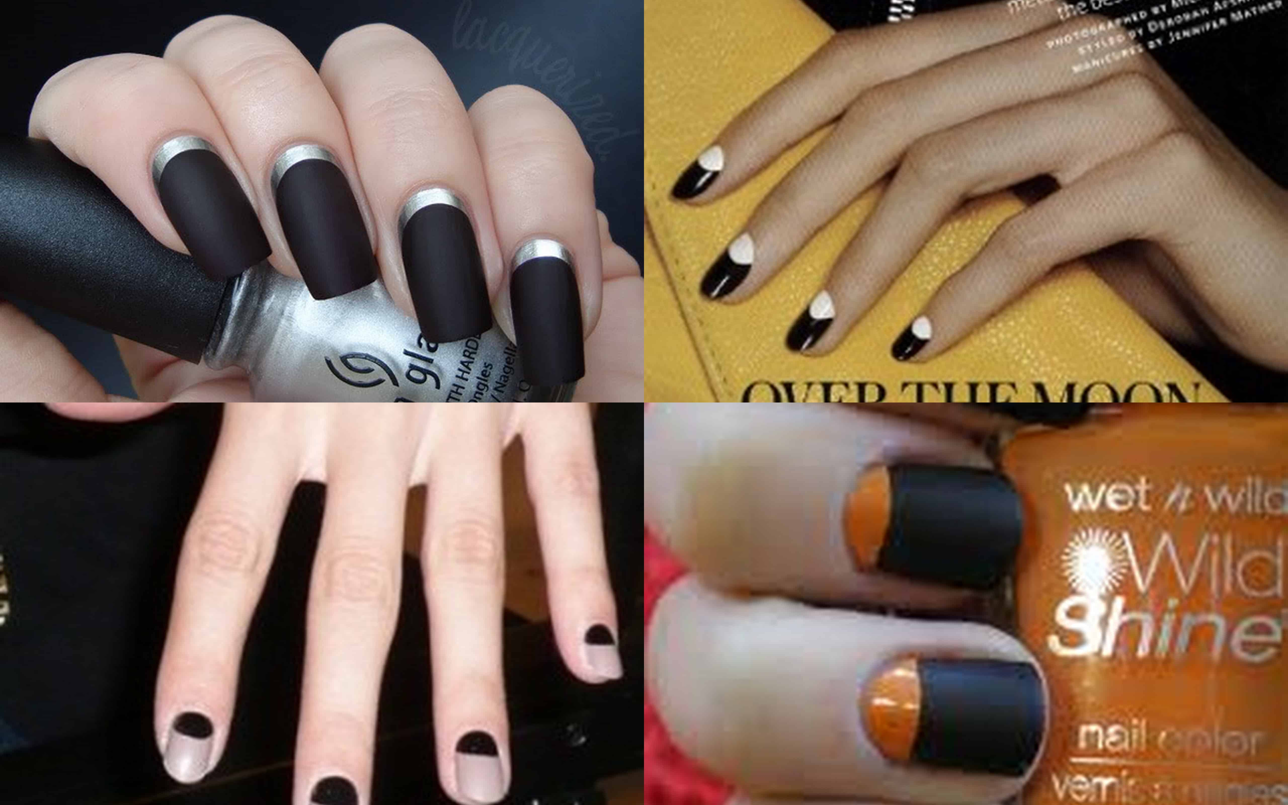 Fall winter 2011 – 2012 Trend Alert: Moon Manicure is Hot this Season