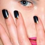 crescent moon manicure