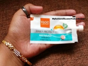 VLCC Anti Pollution Lotion SPF 15 Review Myfashionvilla