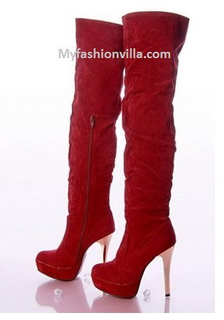 Winter Boots 2012 Red