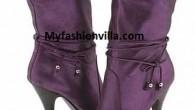 Winter boot 2012 purple