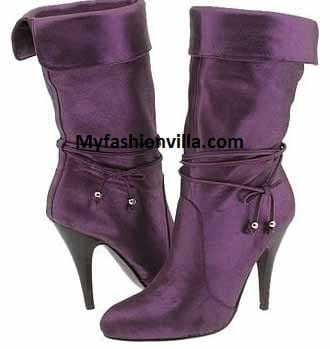 Winter boot 2012 purple
