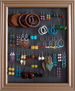 earring frame DIY myfashionvilla