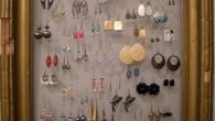 fashionista Home decor idea ear-ring frame