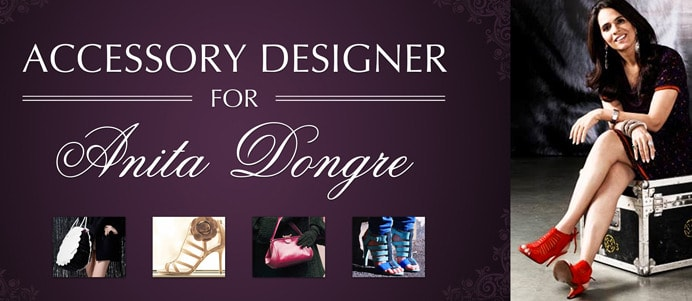 Anita Dongre Inviting Accessory Designers for Bags & Shoes For And