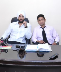 Nitin Khannawalia and Rajat Ahluwalia