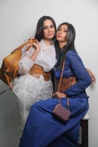 Sonalika Sahay and Laxmi Rana in Raakesh Agarwal creations