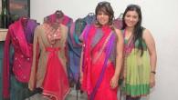 Urvashi Kaur with Ridhima Chopra and her creations