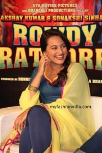 Sonakshi Sinha at Rajasthan Fashion Week
