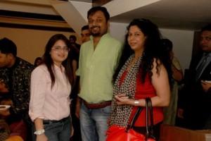 Swati Modo with Niket & Jainee