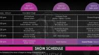 rfw 2012 schedule
