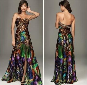Animal Multi Print Dress