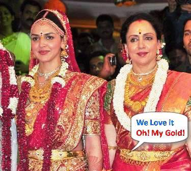 Esha Deol and Hema Malini