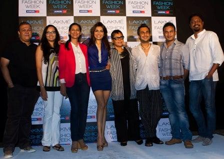Kapil Bhalla,Purnima Lamba - Headm Lakme - Innovations, Anu Ahuja, Queenie Singh, Anjana Sharma, Director Fashion, IMG Relaince, Aki Narula, Clint Fernandez, Joy Datta
