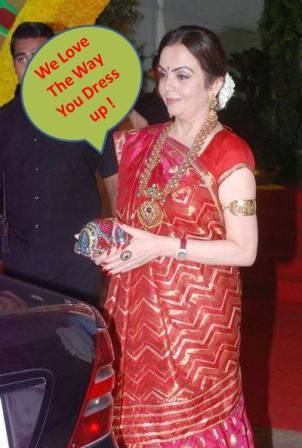 Nita Ambani at Esha Deol Wedding