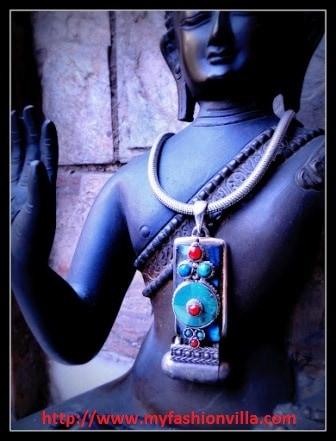 Buddhist Mystic Pendant By Apala