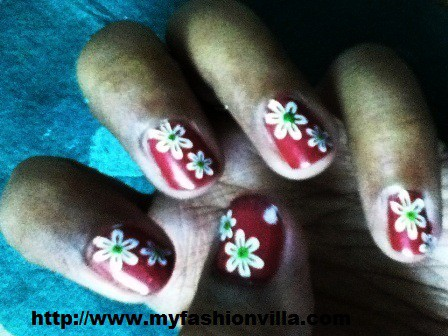 Final Look Konad Nail Art