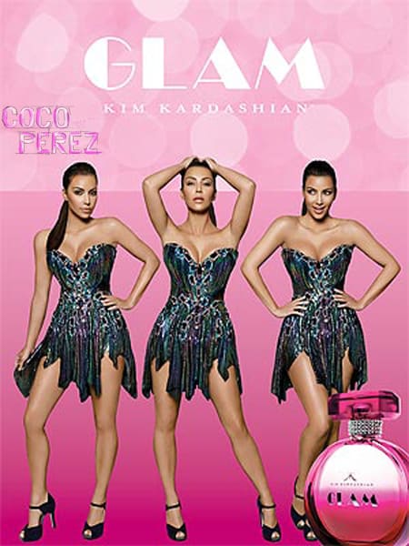Kim Kardashian glam perfume