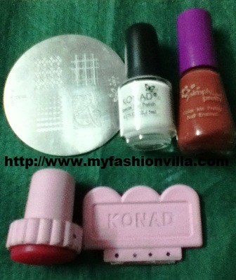 Konad Nail Art Tutorial