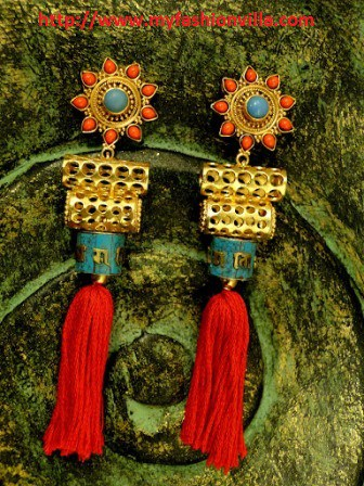 Prayer Wheel Earrings - Apala