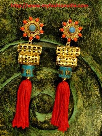 Prayer Wheel Earrings - Apala