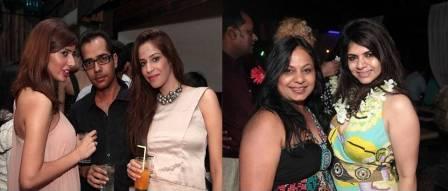 Swati Mehrotra Bday Bash - ashfaque, rooma and dolly