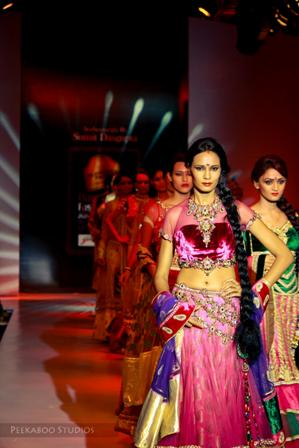 Designer Sumit DasGupta at Bangalore Fashion Week