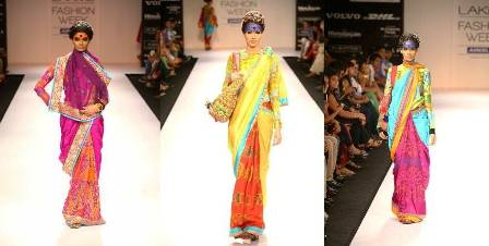 Designer Deepika Govind LFW 2012