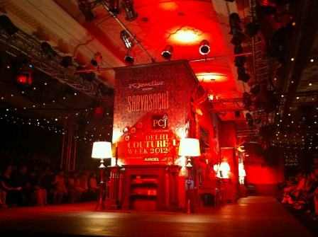 Sabyasachi Fashion show Ramp