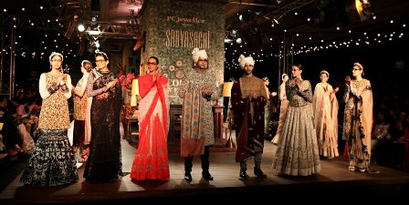 Sabyasachi Autumn/Winter Collection at Delhi Couture Week 2012: Go Vintage