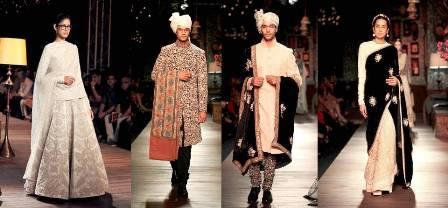 Sabyasachi Mukherjee delhi couture week 2012