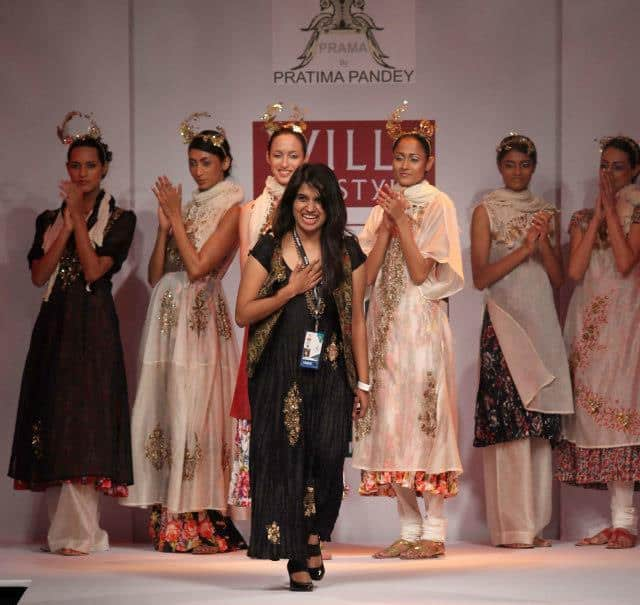 Designer Pratima Pandey Shows an Art of Layering at Wills Lifestyle India Fashion Week