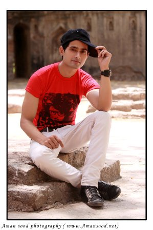 Male Model Portfolio: Farhan Khan Freelance Model from Delhi