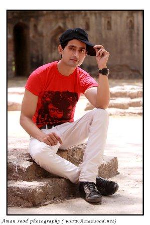 Male Model Portfolio: Farhan Khan Freelance Model from Delhi