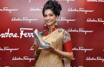 Sonam Kapoor & Ferragamo