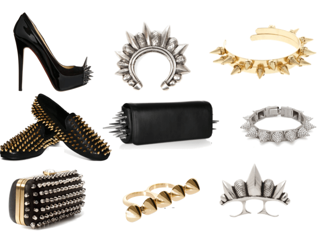 spiked accesories