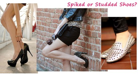 spiked loafers & pumps