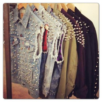 spiked jackets