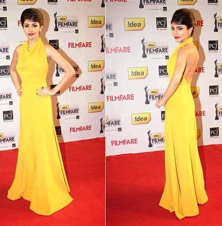 Aushka Sharma at Filmfare Awards