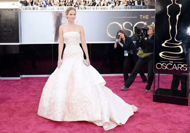 Jennifer Lawrence Oscars 2013 Best Dressed