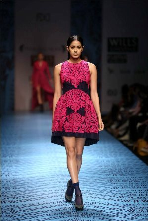 WIFW A/W 2013 Day 1: Designers Pankaj & Nidhi's Collection Review