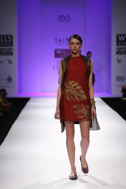 TAIKA by Poonam Bhagat at Wills Lifestyle India Fashion Week A/W 2013