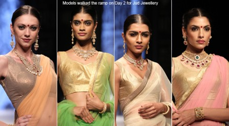 Designer Sumit Dasgupta presents his Bridal collection at IIJW 2013