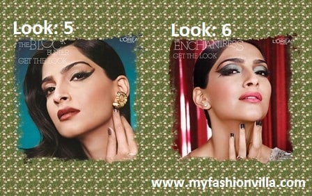 Six Looks of Sonam Kapoor by Namrata Soni