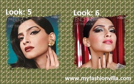 Six Looks of Sonam Kapoor by Namrata Soni by L'Oreal Paris Range