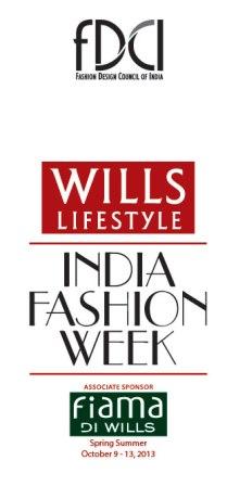 Wills Lifestyle India Fashion Week Spring-Summer 2014