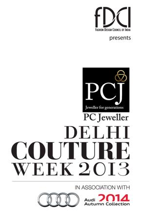 PC Jewellers Show With Satya Paul At The PCJ Delhi Couture Week