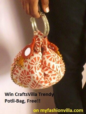 Win Craftsvilla Potli Bag