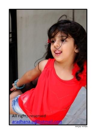 Kids Modeling Portfolio Teeya Patel for Kids Fashion Week